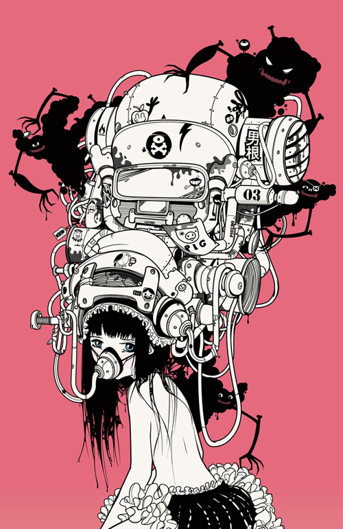 Character Design Vancouver : Contemporary character design from the behance network