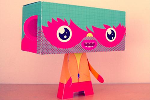 lokum paper toy