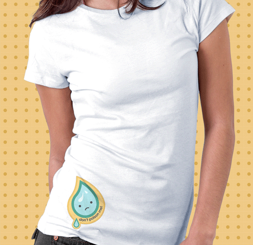 yaya_waterdrop_tshirt