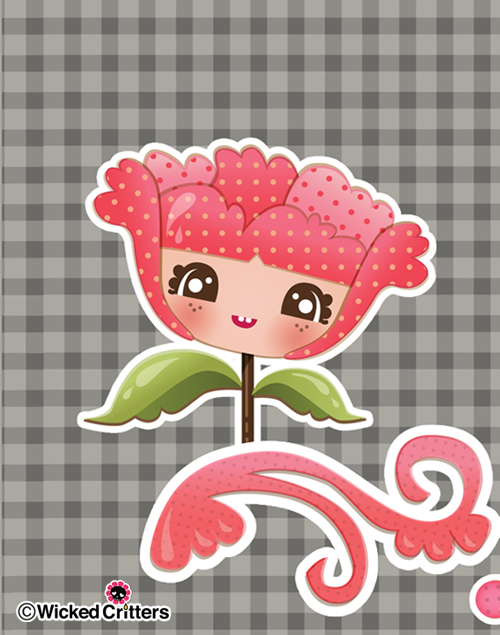 kawaii sweet pea
